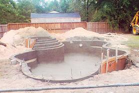Pool construction inground pools swimming pool Swimming pool contractors las vegas