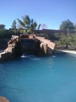 Custom Feature #002 by Allure Pools and Outdoor