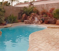 Custom Feature #006 by Allure Pools and Outdoor