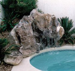 Custom Feature #009 by Allure Pools and Outdoor