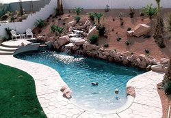 Residential Pool #008 by Allure Pools and Outdoor