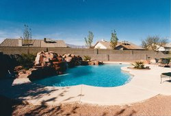 Residential Pool #028 by Allure Pools and Outdoor