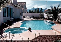 Residential Pool #032 by Allure Pools and Outdoor