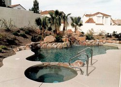 Residential Pool #036 by Allure Pools and Outdoor