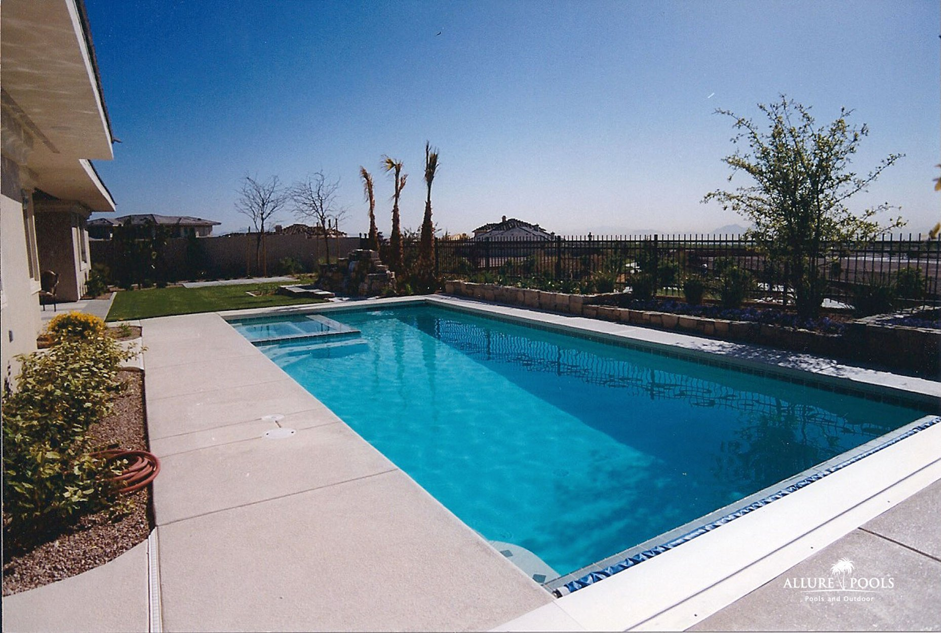Concrete pools las vegas swimming pool builders - Las vegas swimming pools ...
