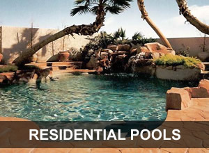 Residential Concrete Pools : Las Vegas Pool Builders : allurepools.net